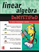Linear Algebra Demystified [Pdf/ePub] eBook