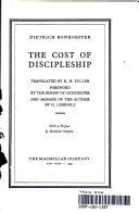 the Cost of Discipleship  Book PDF