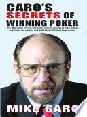 Caro's Secrets of Winning Poker