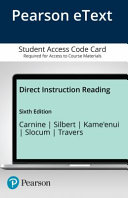 Direct Instruction Reading  Enhanced Pearson Etext Access Card Book