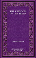 The Kingdom Of The Blind   Original Edition Book