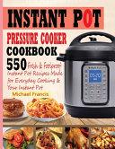 Instant Pot Pressure Cooker Cookbook Book PDF