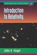 Introduction to Relativity: For Physicists and Astronomers