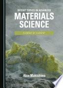 Recent Topics in Advanced Materials Science