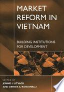 Market Reform in Vietnam Book
