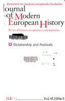 Journal of Modern European History