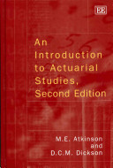 An Introduction to Actuarial Studies