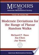 Moderate Deviations for the Range of Planar Random Walks