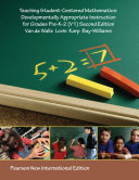 Teaching Student Centered Mathematics  Pearson New International Edition Book