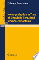 Homogenization in Time of Singularly Perturbed Mechanical Systems
