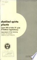 Distilled Spirits Plants Book PDF