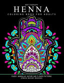 Henna Coloring Book for Adults