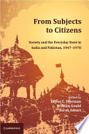 From Subjects to Citizens Book