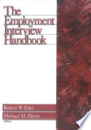 The Employment Interview Handbook