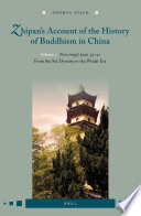 Zhipan S Account Of The History Of Buddhism In China