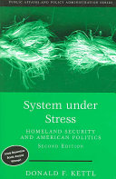 System Under Stress Homeland Security And American Politics 2nd Edition