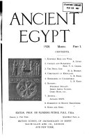 Ancient Egypt and the East