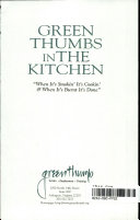 Green Thumbs in the Kitchen