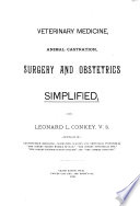 Veterinary Medicine  Animal Castration  Surgery and Obstetrics Simplified