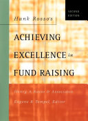Hank Rosso s Achieving Excellence in Fund Raising