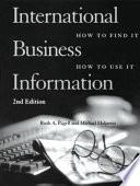 International Business Information Book PDF