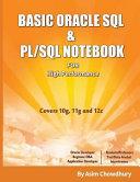 Basic Oracle SQL & PL/SQL Notebook