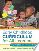 Early Childhood Curriculum For All Learners