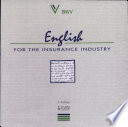 English For The Insurance Industry Book PDF
