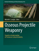Pdf Osseous Projectile Weaponry Telecharger