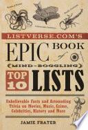 Listverse.com's Epic Book of Mind-Boggling Lists