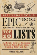 Listverse.com's Epic Book of Mind-Boggling Lists