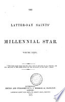 THE LATTER DAY SAINTS  MILLENNIAL STAR  VOL XXXV