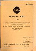 Nasa Technical Note No 1 4000