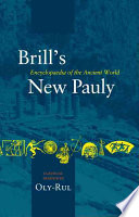 Brill's New Pauly: Oly-Rul