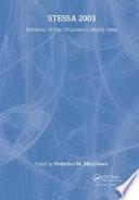STESSA 2003   Behaviour of Steel Structures in Seismic Areas