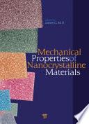 Mechanical Properties of Nanocrystalline Materials
