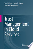 Trust Management in Cloud Services Book