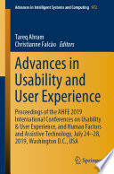 Advances in Usability and User Experience Book