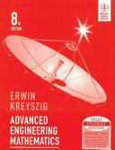 ADVANCED ENGINEERING MATHEMATICS  8TH ED