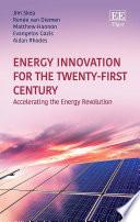 Energy Innovation for the Twenty First Century