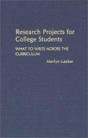 Research Projects For College Students Book PDF