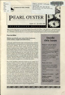 Pearl Oyster Information Bulletin
