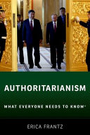 link to Authoritarianism : what everyone needs to know in the TCC library catalog