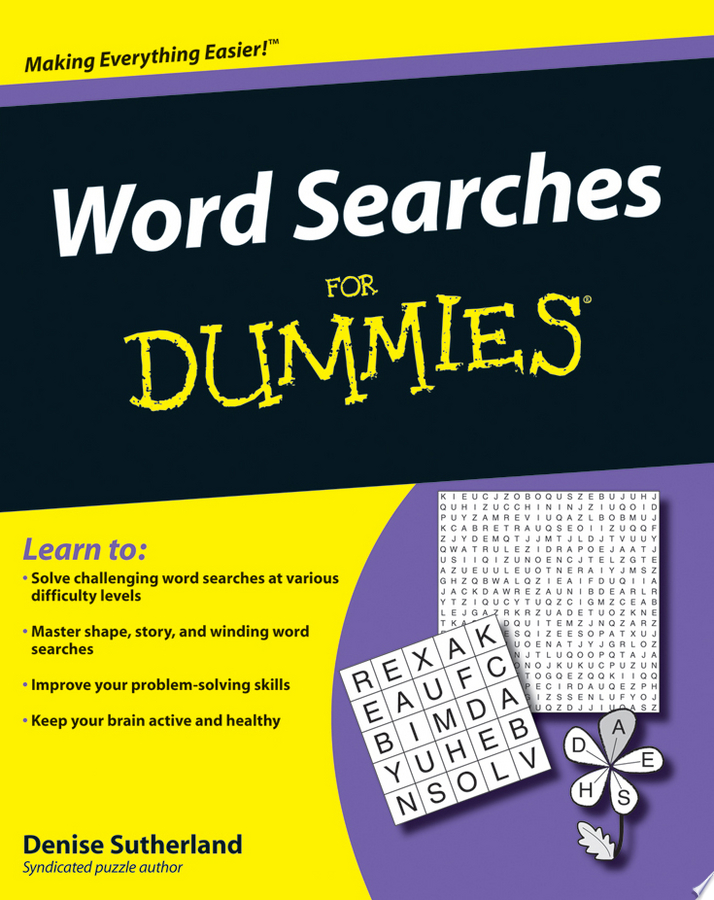 Word Searches For Dummies