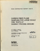 Carbon Fiber Plume Sampling for Large Scale Fire Tests at Dugway Proving Ground