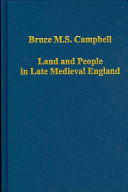 Land and People in Late Medieval England