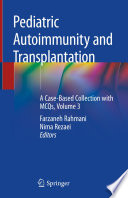 Pediatric Autoimmunity and Transplantation Book