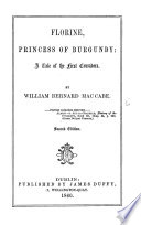 Florine  Princess of Burgundy  a tale of the first Crusaders