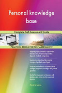 Personal Knowledge Base Complete Self Assessment Guide