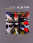 Linear Algebra and Its Applications, Mymathlab, and Student Study Guide